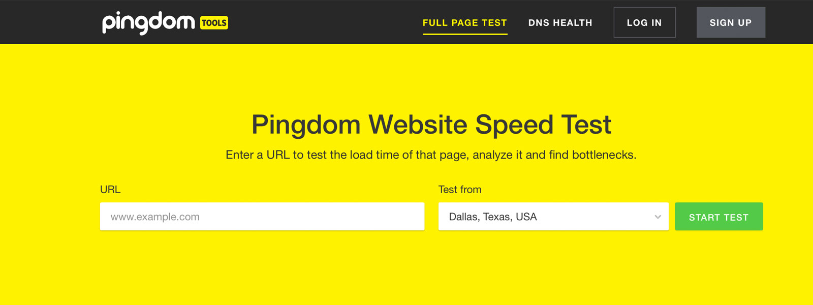 how to check your website speed